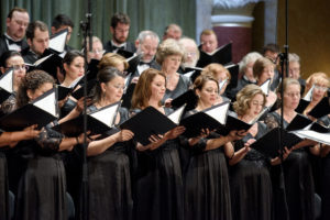 A Nemzeti Énekkar felvidéki koncertjei Nádszegen és Ógyallán