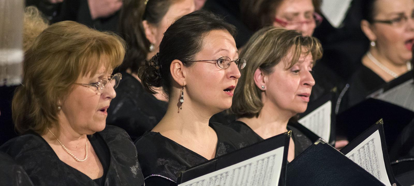 A cappella és egytételes oratorikus művek Nyíregyházán