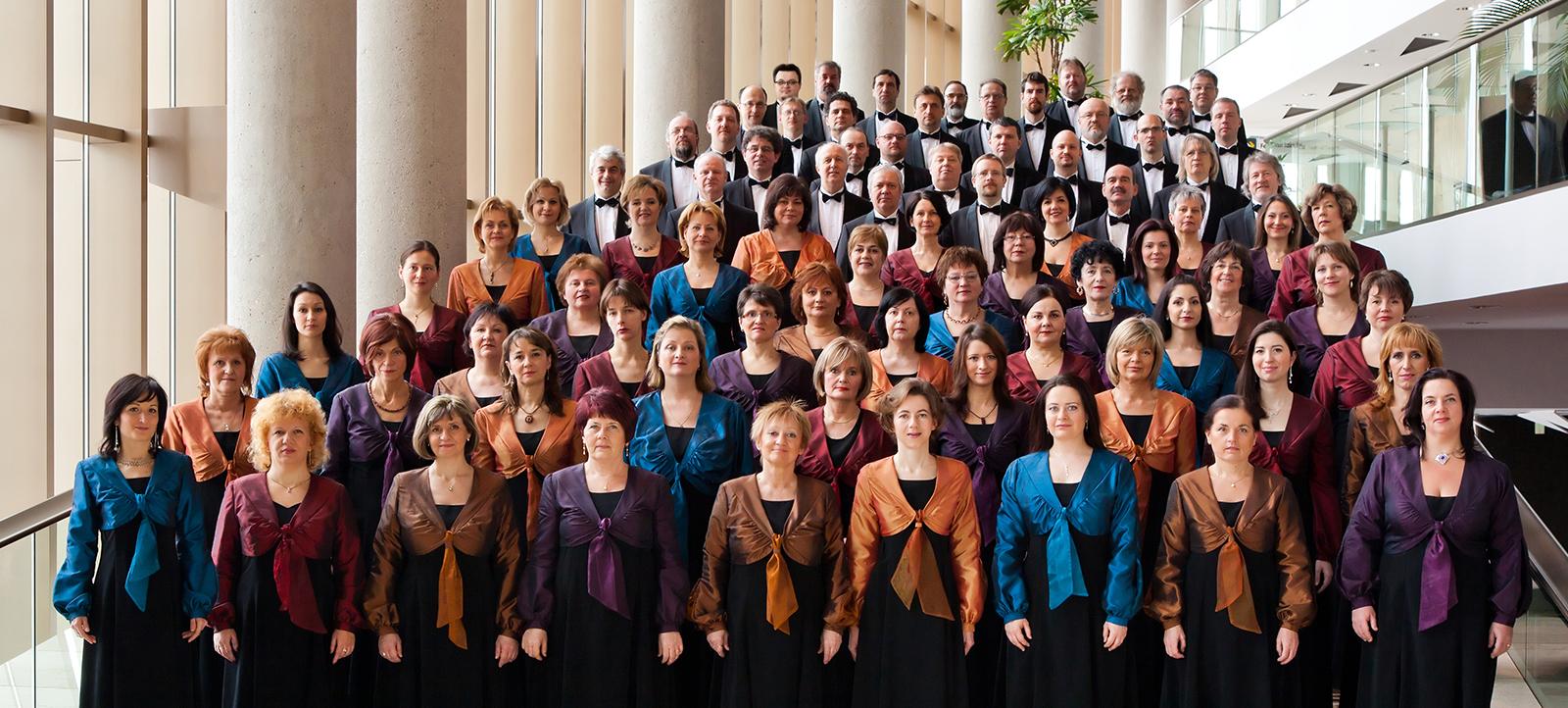 A Nemzeti Énekkar Brüsszelben, a Henry Le Boeuf Hall-ban