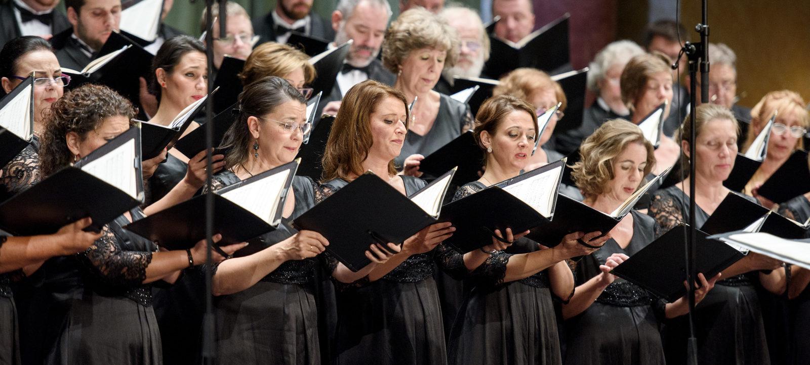 A Nemzeti Énekkar koncertje a pécsi Kodály Központban