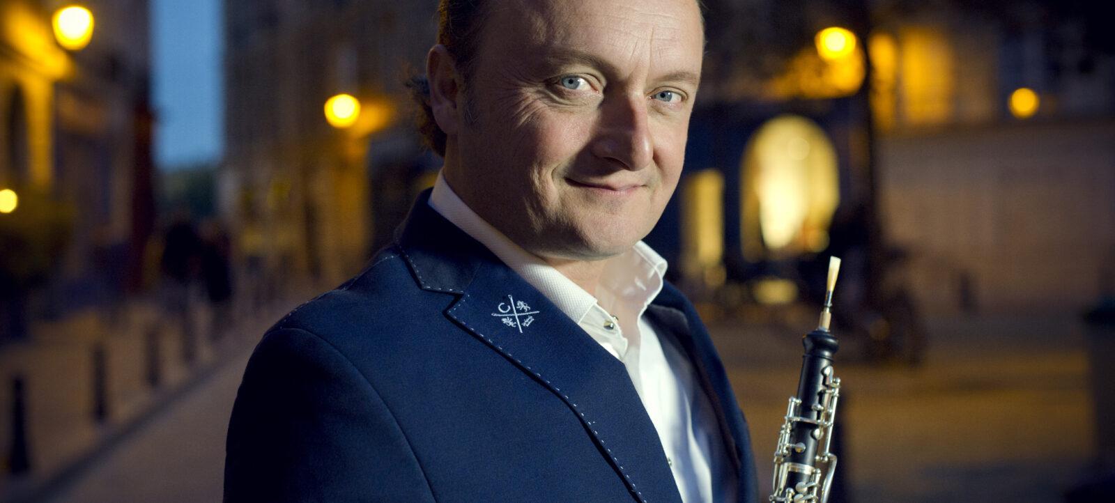 François Leleux és a Nemzeti Filharmonikus Zenekar hangversenye a Zeneakadémián – online esemény