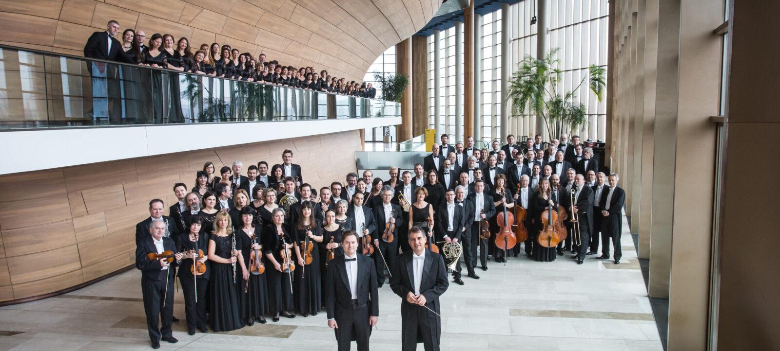 A Nemzeti Filharmonikus Zenekar és a Nemzeti Énekkar hangversenye